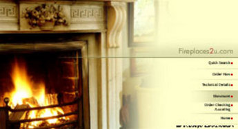 eCommerce Website for Selling Fireplaces & Allied Products - Fireplaces2u