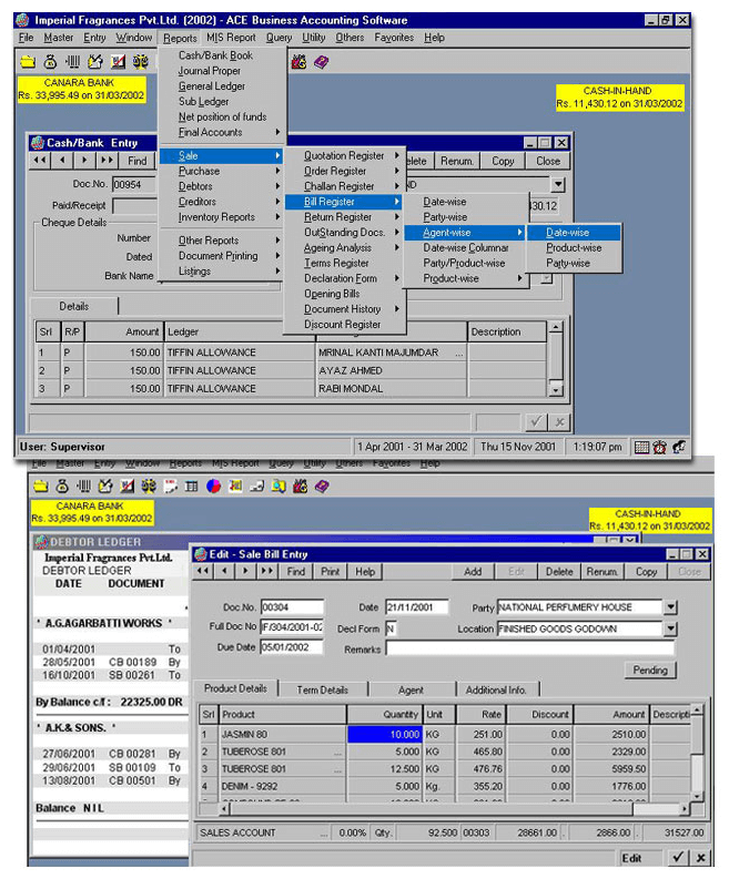 Web-based Business Accounting Software