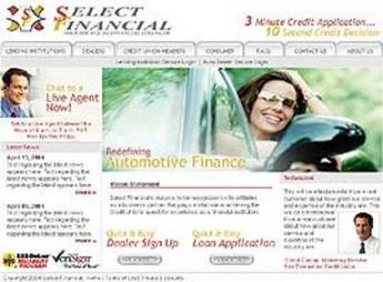 Dot Net Based Website for Financial Services - Select Financial