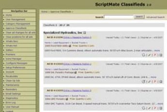 Dot Net Website for Classified & Ads Posting Services 'ScriptMat'