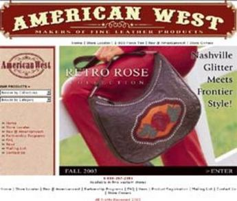 ASP and MSSQL Based Website - Americanwest