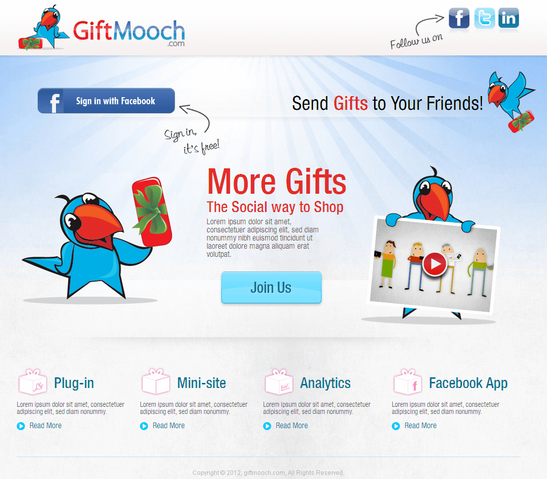 A Website for Sending Gifts to Friends & Family