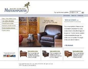 Leather Furniture Selling Store - Misterimporter