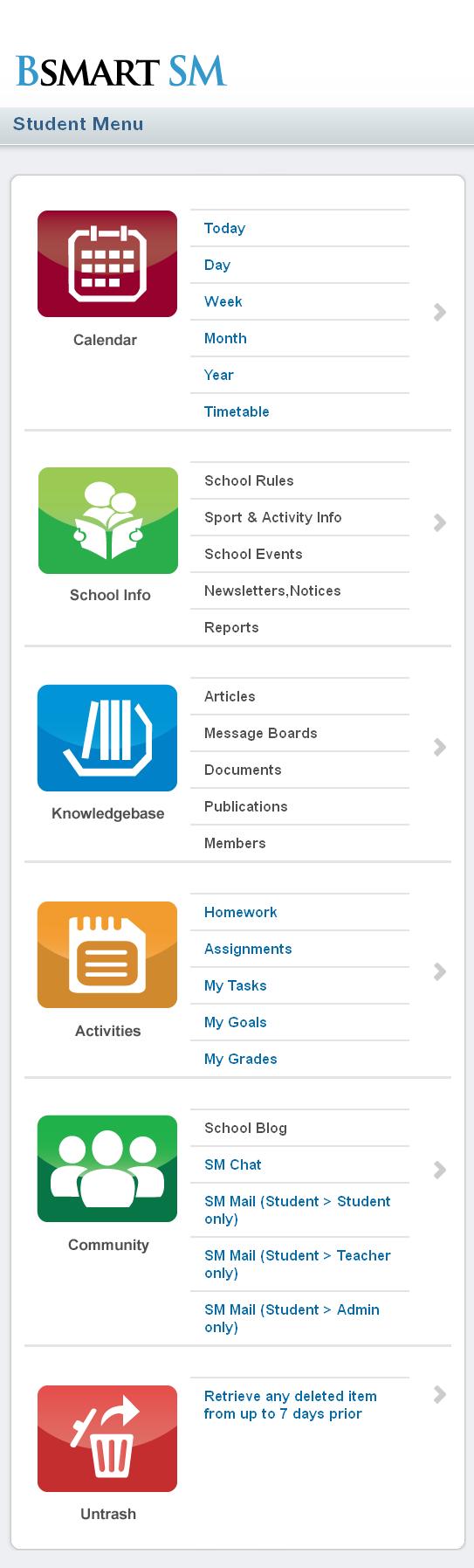 Dot Net Website for Education 'BSMART SM' – Teachers & Students Portal