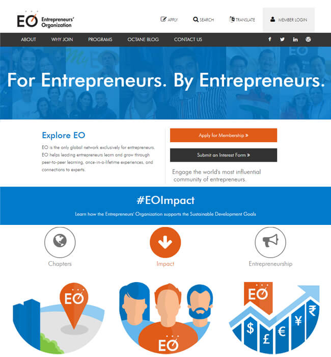 World's most Influential Community Website for Entrepreneurs - EO