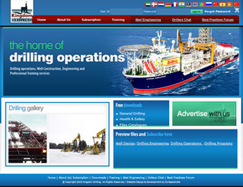 Dot Net Website for 'Kingdom Drilling' - Drilling Training & Services
