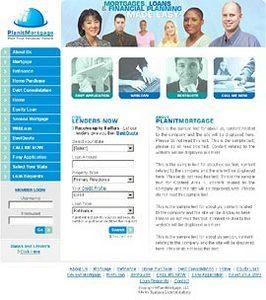 Dot Net Website for Finance 'Planitmortgage' – Mortgages/Loan Provider