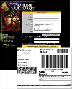Website for Selling Gift Fruit Baskets - Hanlinefruitbaskets