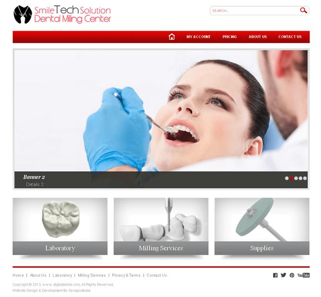 Design & Development of a Dental Care Website