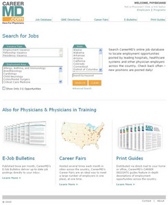 Dot Net Website for Employment 'CareerMD' - Online Job Portal