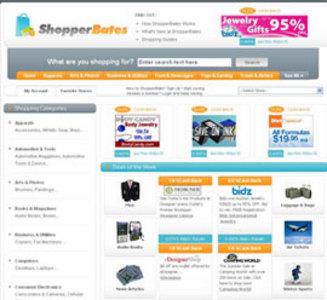 Dot Net eCommerce Website for Affiliate Marketer 'Shopper Bates'