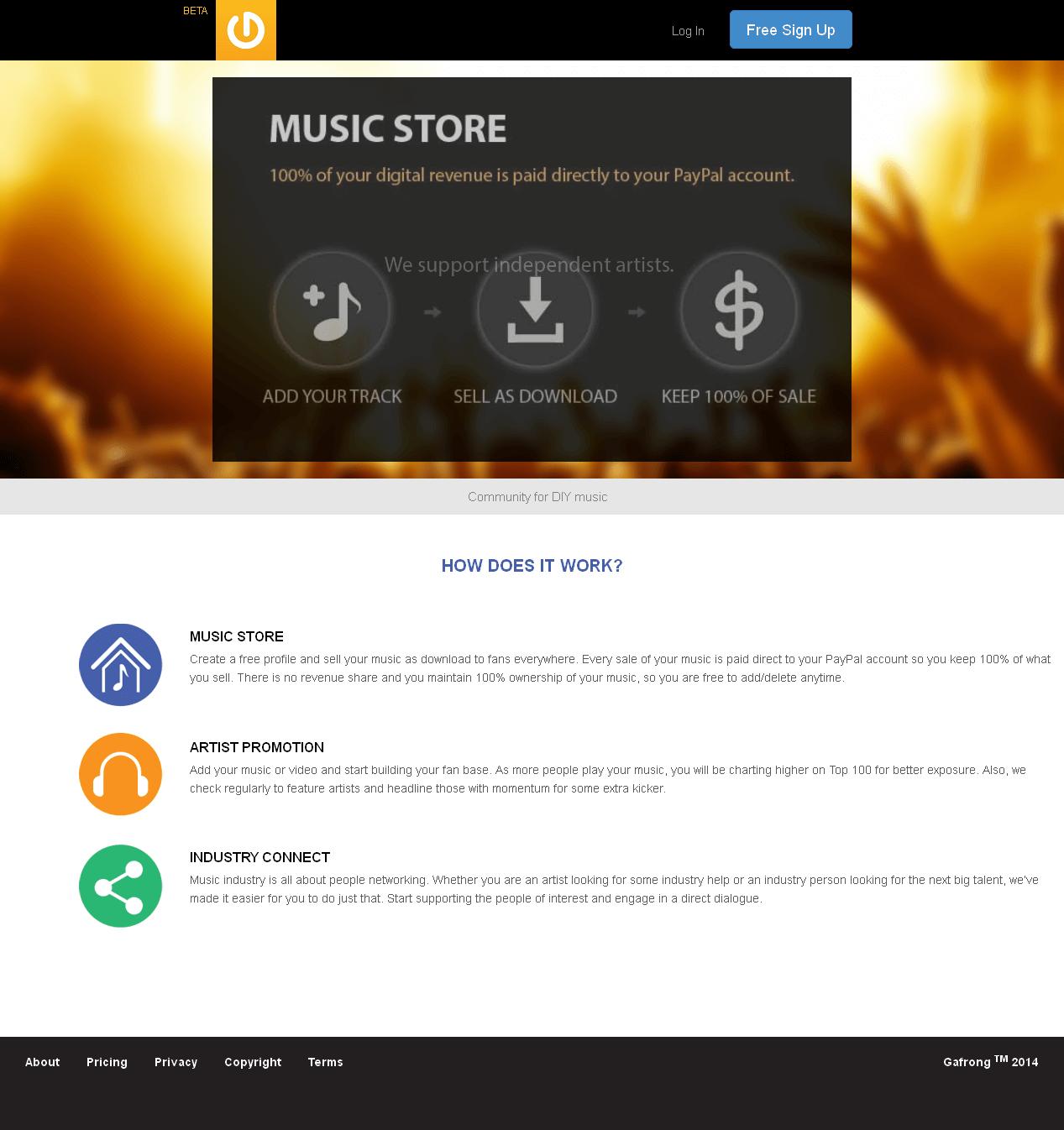Development of Microsoft Dot Net Based Online Music Platform