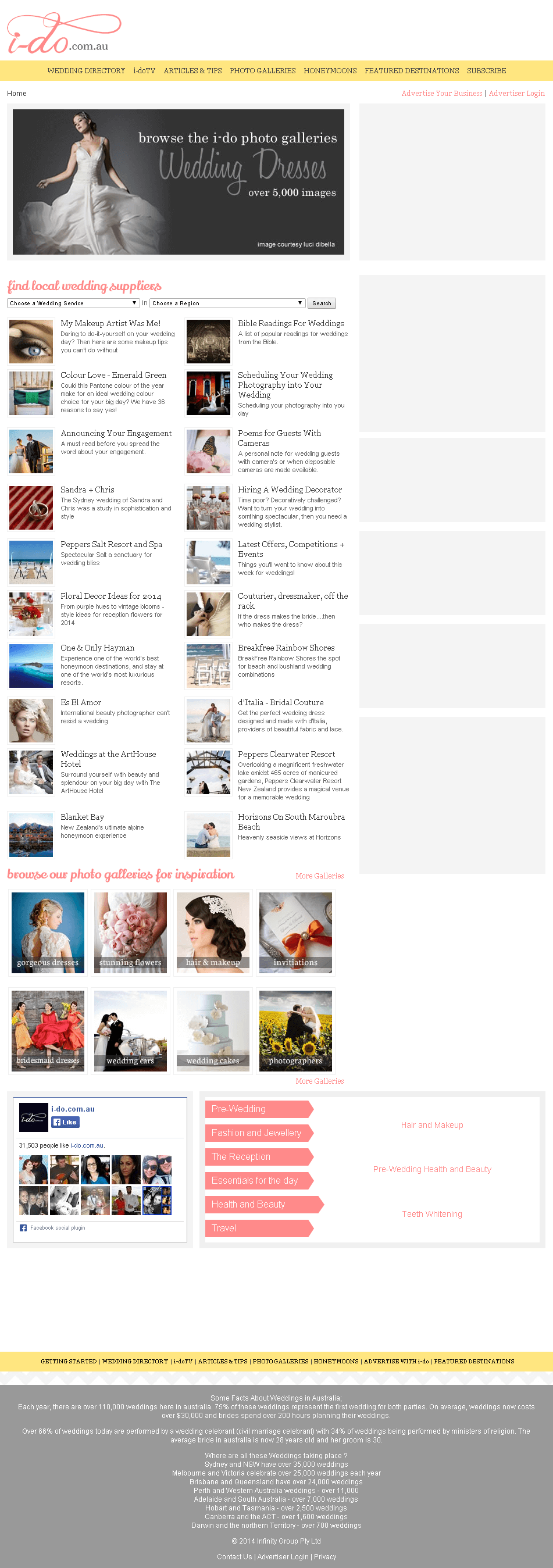 Website for Wedding Services Provider 'i-do' Using Dot Net