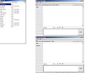 Desktop Chat Application for Media 'InstantChat' Using Dot Net