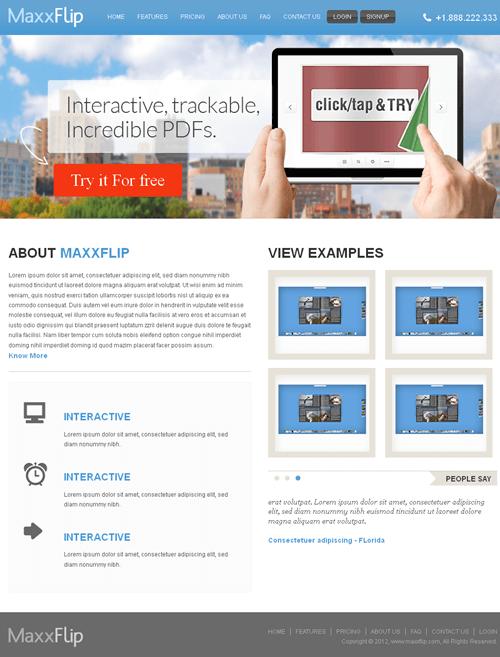 Flipbook Web Application for Media 'MaxxFlip' Using Dot Net