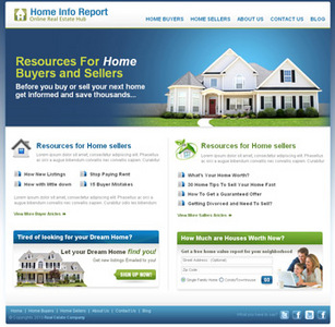 Website for Home Buyers/Sellers 'Home Info Report' Using Dot Net