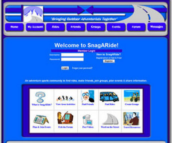 Website for Sharing & Posting Rides 'SnagARide' Using Dot Net