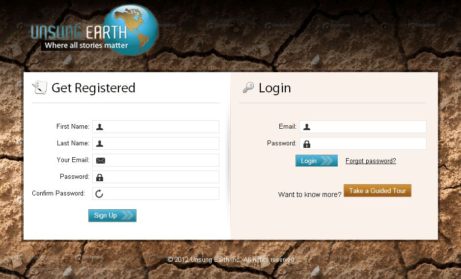 Website for Media 'Unsung Earth' Using Dot Net – Social Networking
