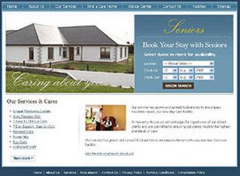 Development of Website for Online Room Booking - Seniors Residential