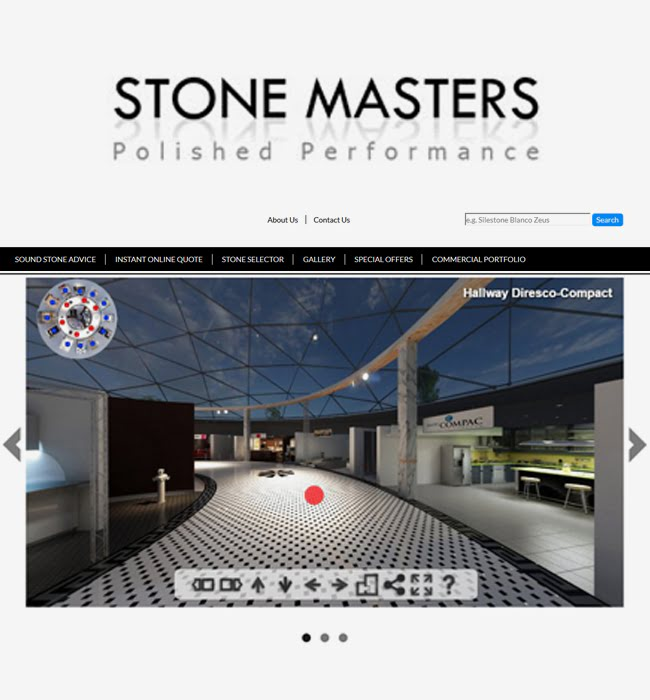 ASP.NET MVC Website Development for Stone Industry in UK - Stone Masters