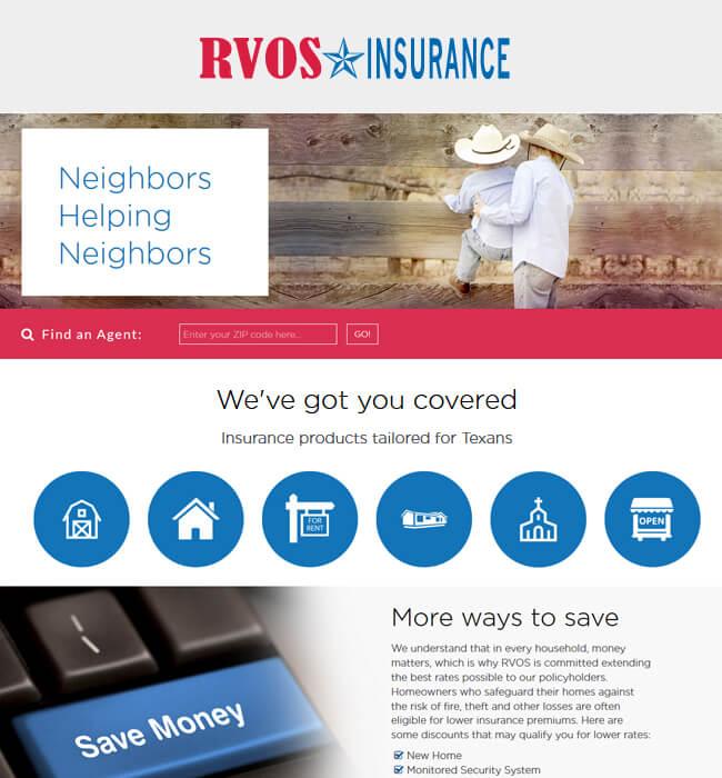 Development of a Drupal 8 Website for Insurance Industry - RVOS