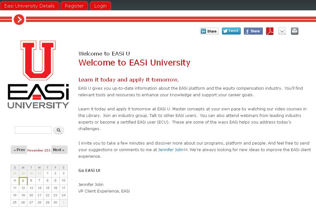 Drupal Based University Website
