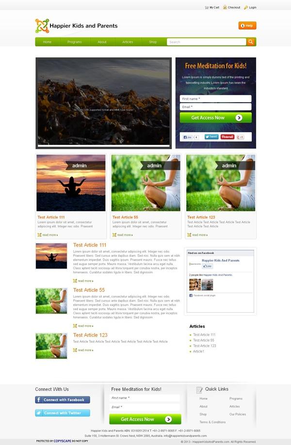Development of a Spiritual Growth Website
