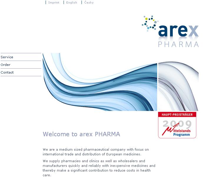Drupal Based Website Enhancement- Arex Pharma