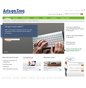 Drupal Based Website Development - Arts en Zorg