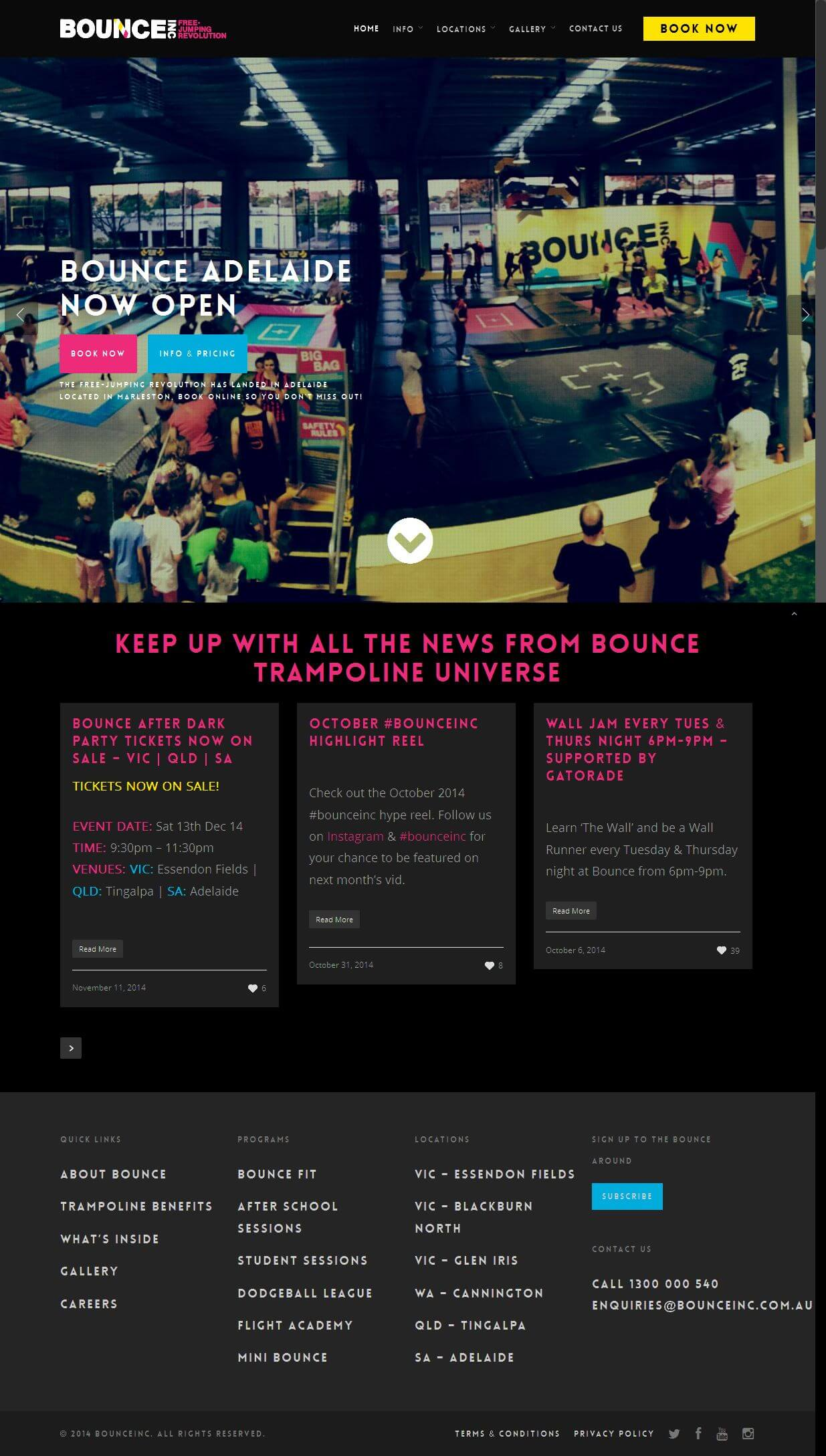 Redevelopment of an Existing Entertainment-based Website