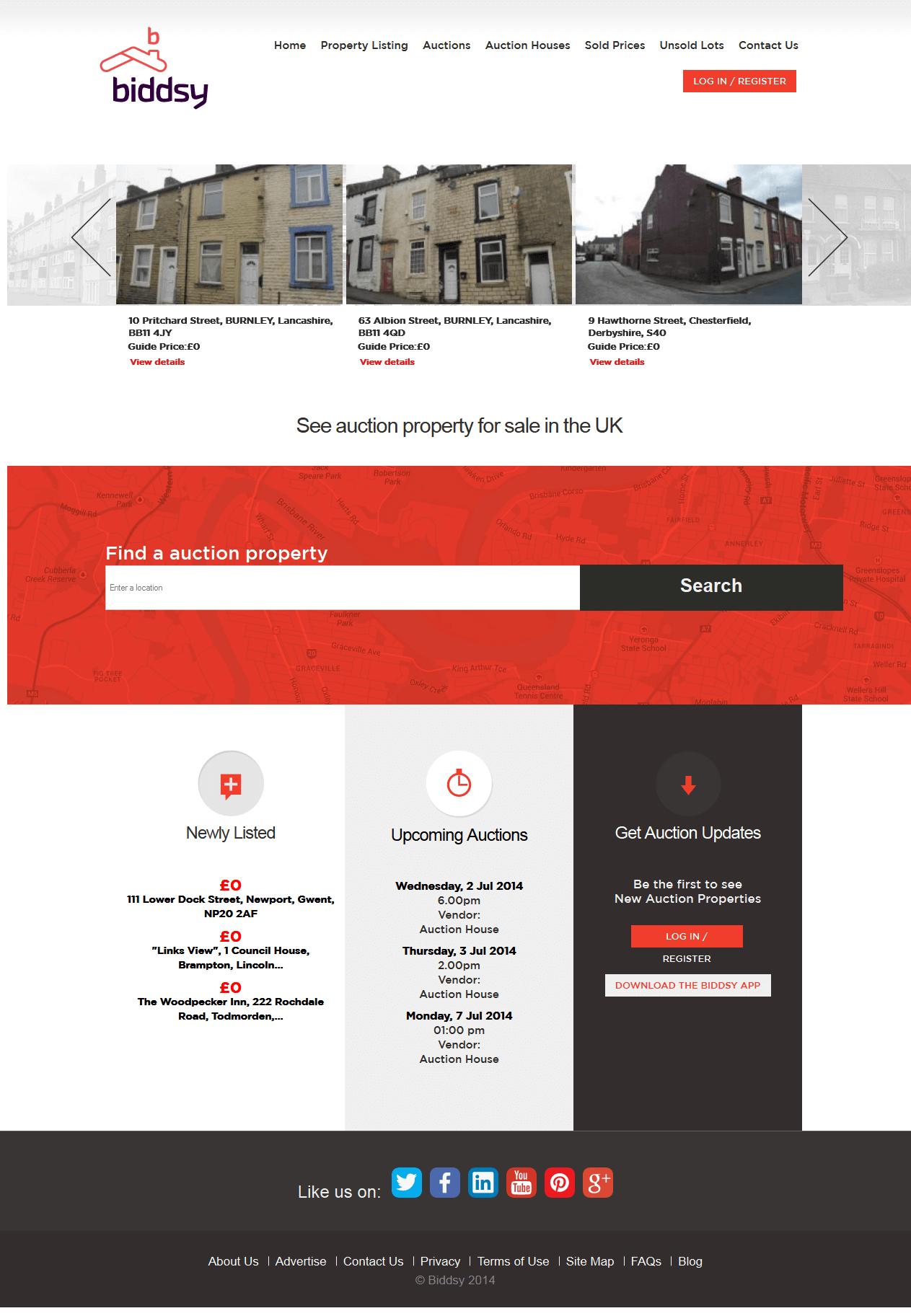A Drupal Based Real Estate Website