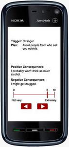 Flash Application for Survey Study 'Mobile App Slide'