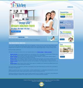 Website for Kitchen Designing Services Provider 'eKitchenDesigner'