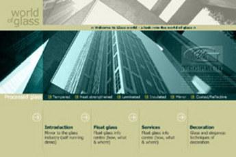 Website for Glass Manufacturer 'Gujarat Guardian Limited'