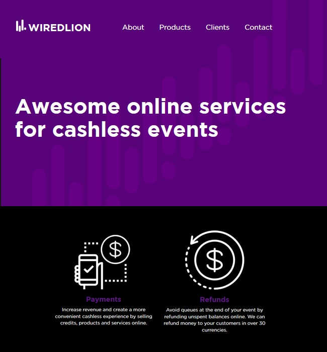 Website Redesigning for Event Industry in Australia - Wired Lion