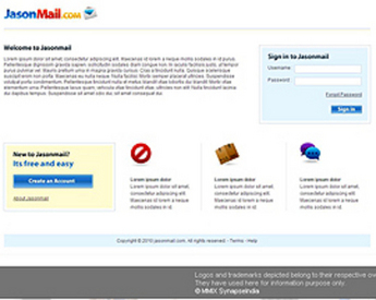 Web Mail Template & Software for 'JasonMail' – Email Marketer