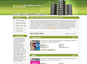 Website for Web Hosting Reviews Platform 'AWHR' Using HTML