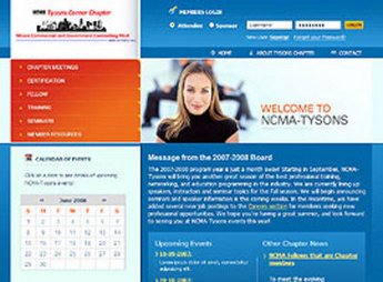 HTML Website for Media 'NCMA' – National Contract Management Association