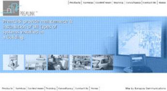 HTML Website for Premier Telemetry Services Provider 'PremLink'