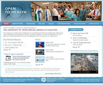 HTML Website for Healthcare 'Open To Health' – Health Service Provider