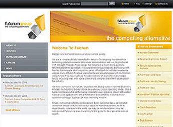 HTML Website for Media 'Fulcrum' – News Online