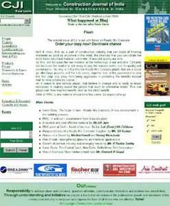 HTML Website for Real Estate 'CJI Sources' – Construction Business
