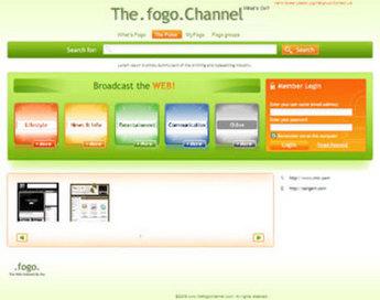 HTML Website for 'The.Fogo.Channel' – Social Bookmarking Platform