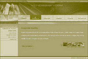 HTML Website for Broadband Services Provider 'Visionary Communications'