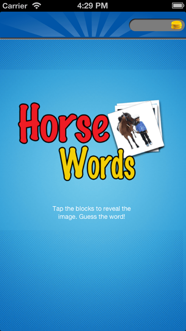 Enhancement in an iOS App - Horse Words