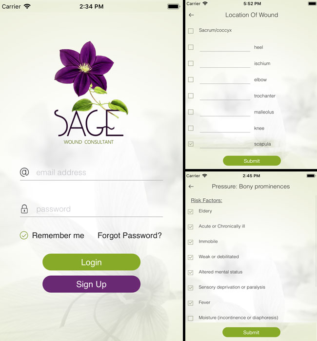 Native Android & iOS App Development for Medical Industry in USA – SAGE