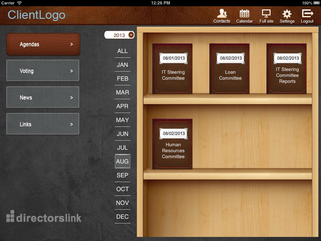 Development of iOS Powered App - DirectorsLink