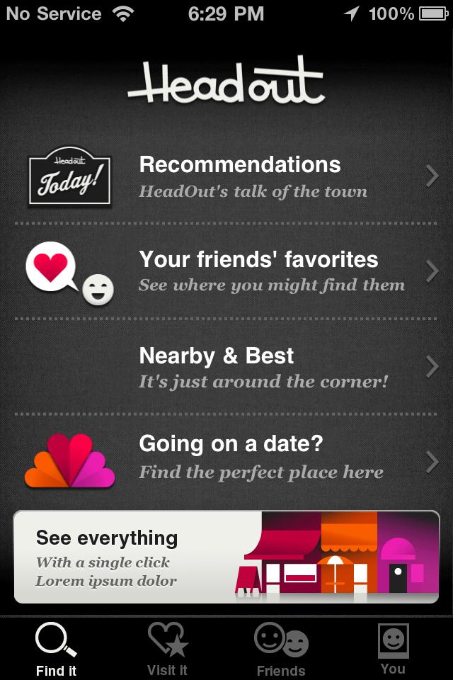 Development of A Social Networking App : HeadOut