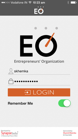 Development of An iOS Based Mobile App EO - South Asia Benefits