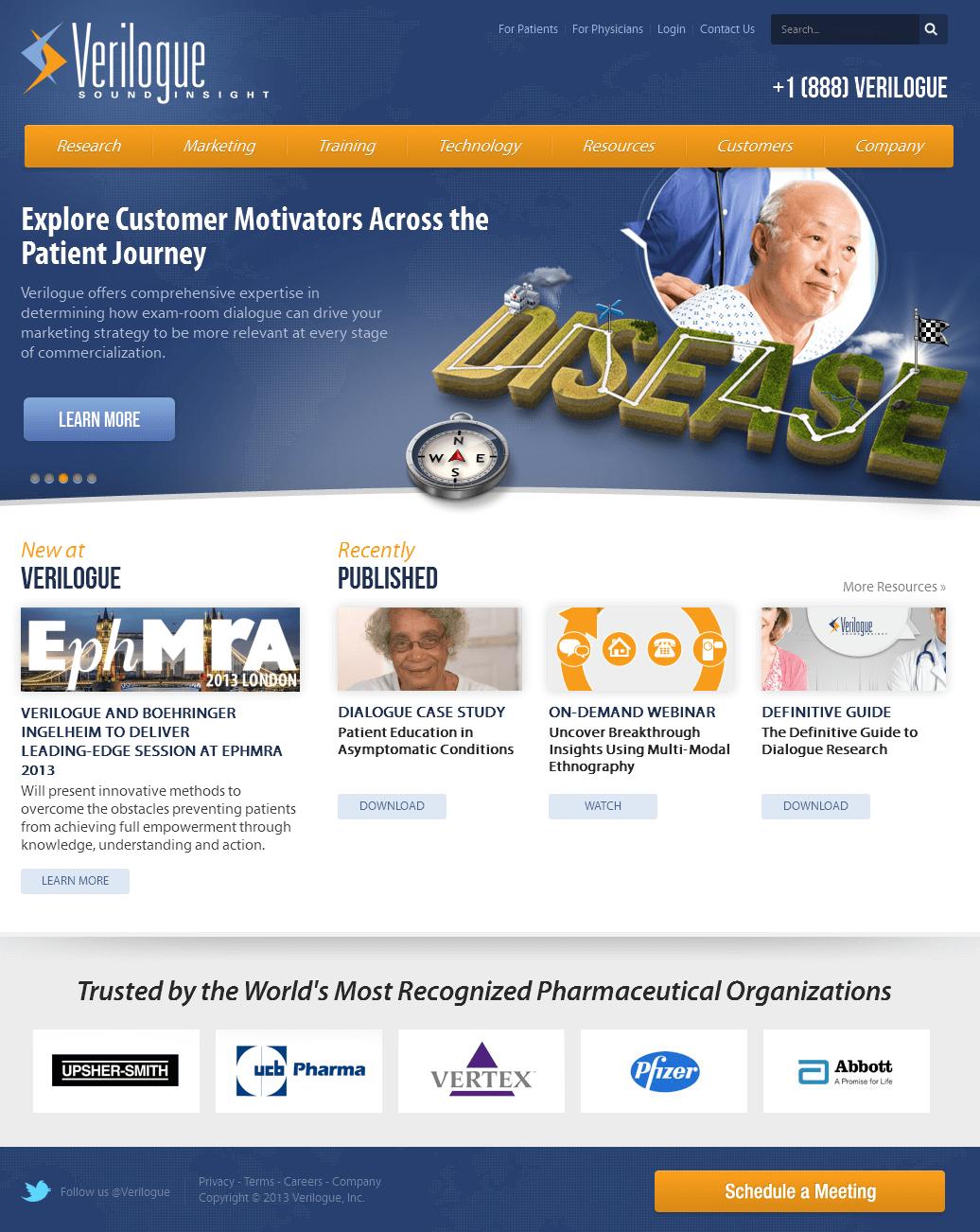 Joomla Powered Communication Platform for Patients & Physicians - Verilogue